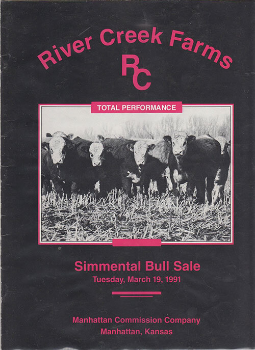 River Creek Farm's first annual Bull Sale